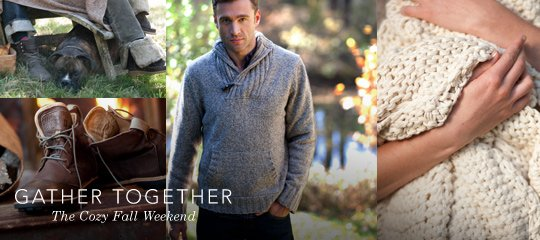 Gather Together:The Cozy Fall Weekend