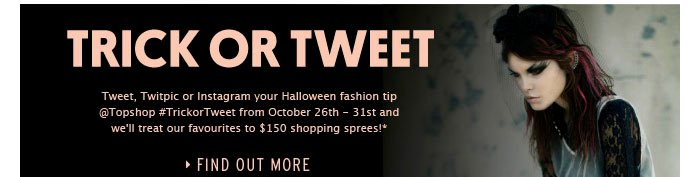Trick Or Tweet - Find out more