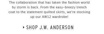 J.W. Anderson Is Back! - Shop J.W. Anderson