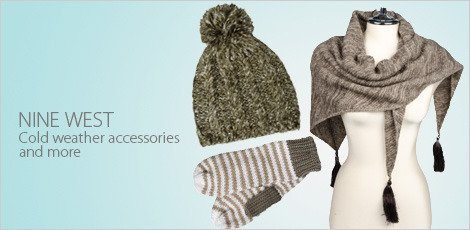 Nine West Cold Weather Accessories And More