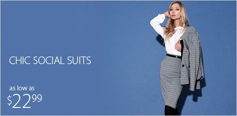 Chic Social Suits