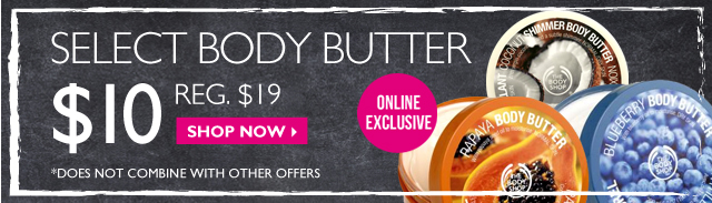 Select Body butter - shop now