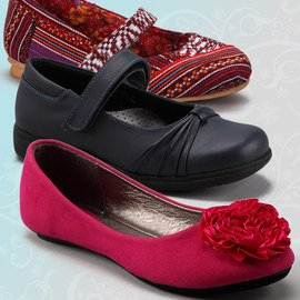 Sweet Steps: Girls' Shoes
