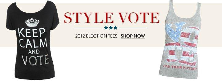 Shop Election Tees