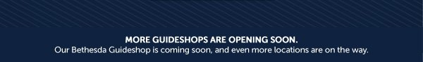 More Guideshops Are Opening Soon
