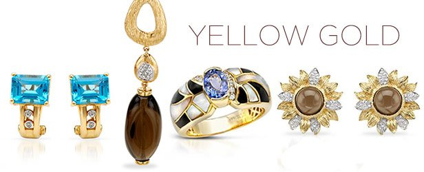 Yellow Gold Jewelry Blowout