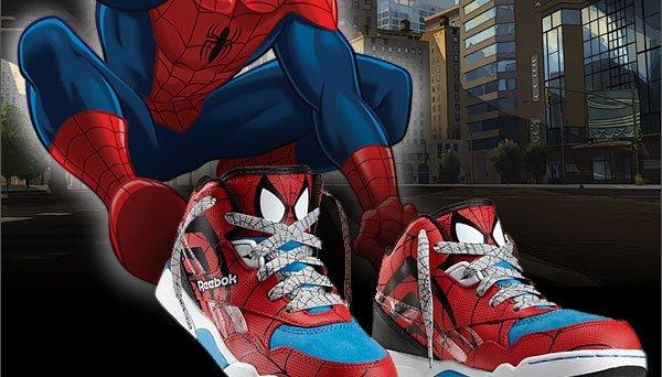 a18e0f5d12e7 spiderman reebok shoes cheap   OFF45% The Largest Catalog Discounts