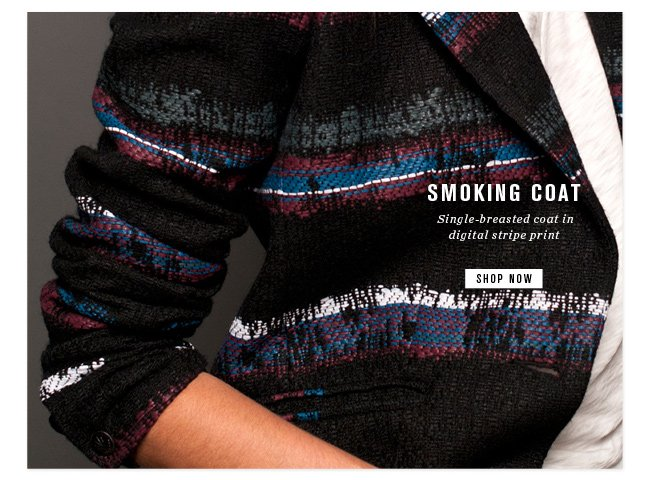 smoking coat