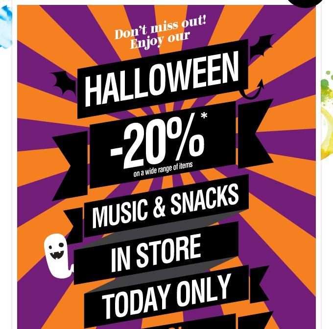Halloween -20%