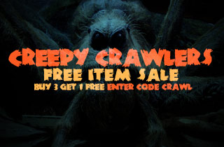 Creepy Crawler Free Item Sale
