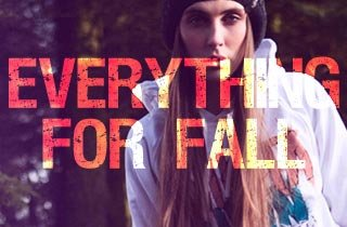 Everything for Fall