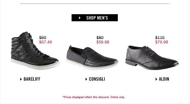 Shop men at www.aldoshoes.com/us/sale/men/sale-shoes