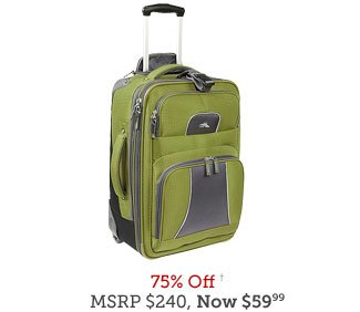 High Sierra Elevate 22 inch Carry-On Wheeled Upright
