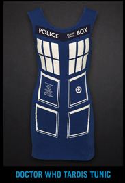 DOCTOR WHO TARDIS TUNIC