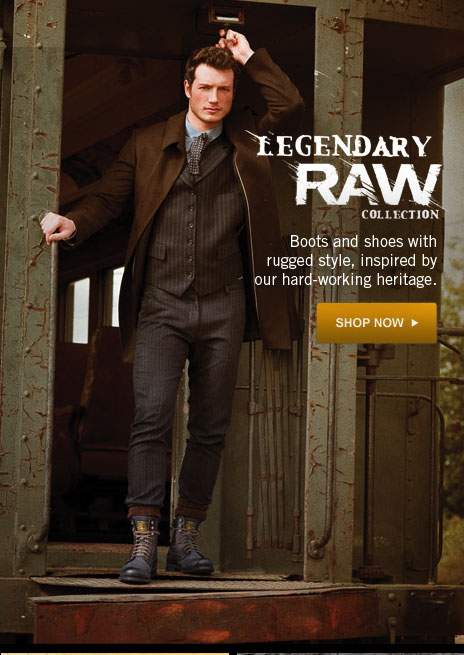 Legendary Raw Shop Now