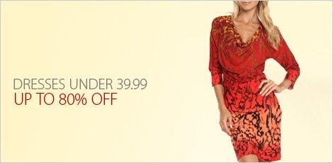 Dresses Under 39.99
