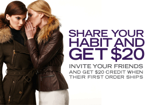 SHARE YOUR HABIT & GET $20