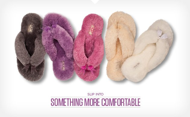 Slip into something more comfortable