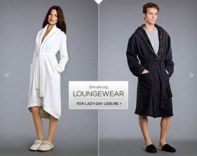 Introducing Loungewear - For lazy day leisure