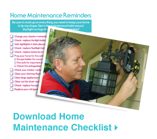 Download Home Maintenance Checklist »