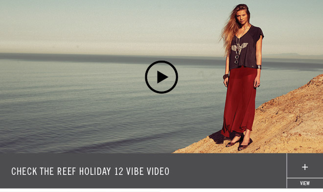Check the Reef Holiday 12 Vibe Video