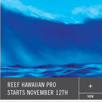 Reef Hawaiian Pro Starts November 12th
