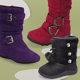 One Step for Fashion: Girls' Boots