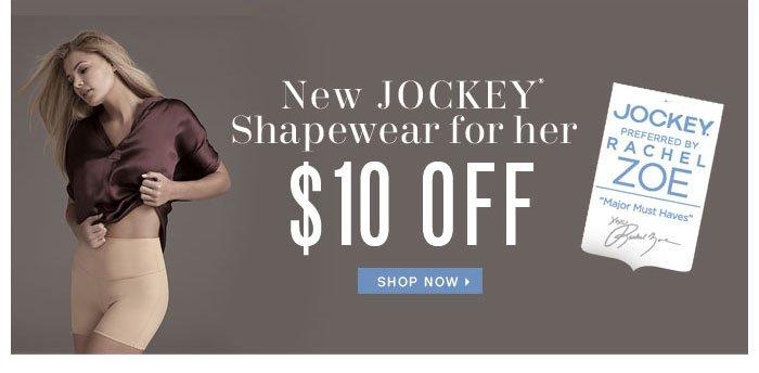 $10 Off NEW Jockey Shapewear for her
