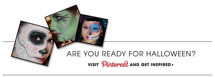 Are you ready for Halloween? Visit Pinterest and get inspired
