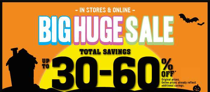 Big Huge Sale