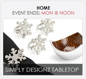 SIMPLY DESIGNZ TABLETOP
