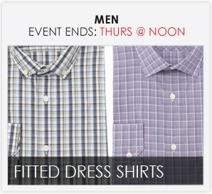 MEN'S FITTED DRESS SHIRT EVENT