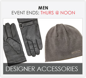 DESIGNER ACCESSORIES - Men's