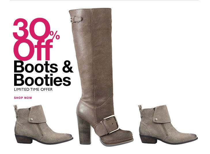 Click here to shop boots & booties