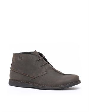 TBS Genuine Leather Paneled&Stitched Men's Chukka Boots $89