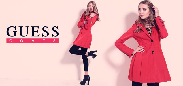 Winter Coats featuring Guess and more