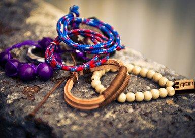 Shop Beaded Bracelets by Grain