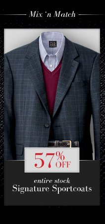 57% Off Signature Sportcoats