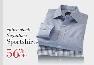 56% Off Signature Sportshirts