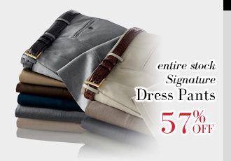 57% Off Signature Dress Pants