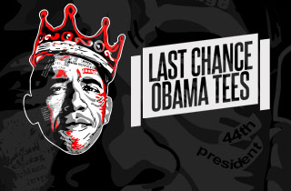 Last Chance- Obama Tees