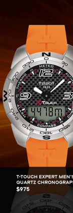 T-Touch Expert Men's Quartz Chronograph $975