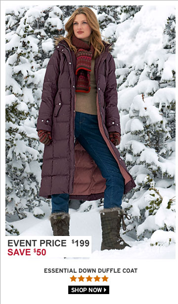 Essential Down Duffle Coat