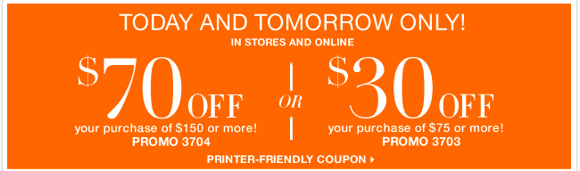 Only 2 Days to use this coupon and Save BIG! Shop Now