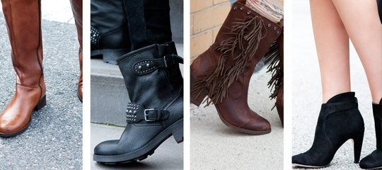 Running of the Boots:Moto Boots, Booties, & More