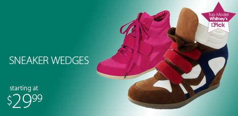 Sneaker Wedges (active day)