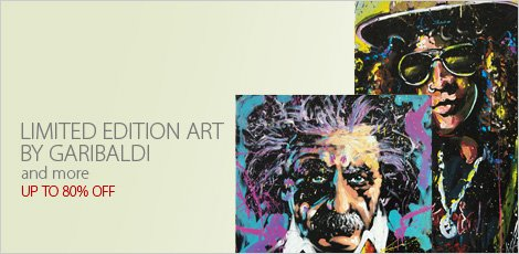 Limited Edition Art by Garibaldi and more | Presented by QART