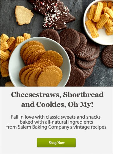 Cheesestraws, Shortbread and Cookies, Oh My! - Shop Now