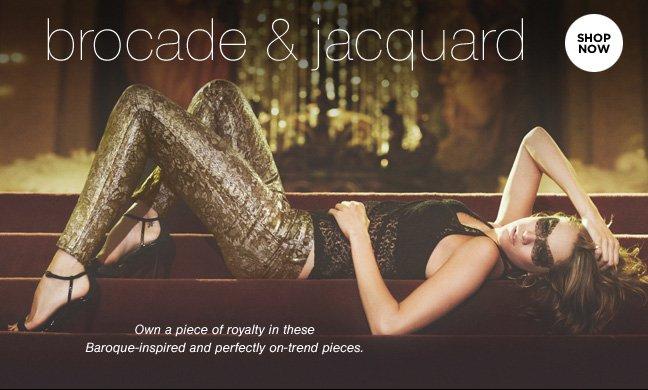 Shop the Trend: Brocade & Jacquard