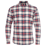 Paul Smith Shirts - Navy Nepp Checked Shirt